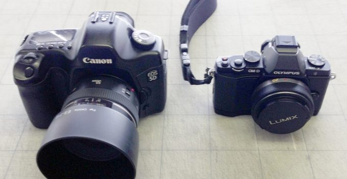 Major differences between DSLRs and mirrorless cameras