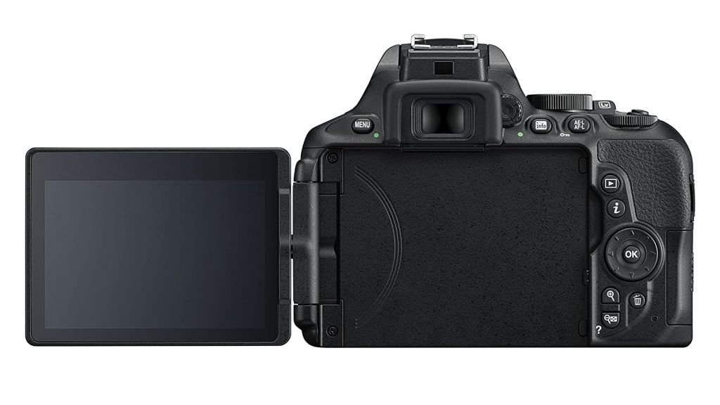 Best DSLR camera on a budget with a flip touchscreen LCD